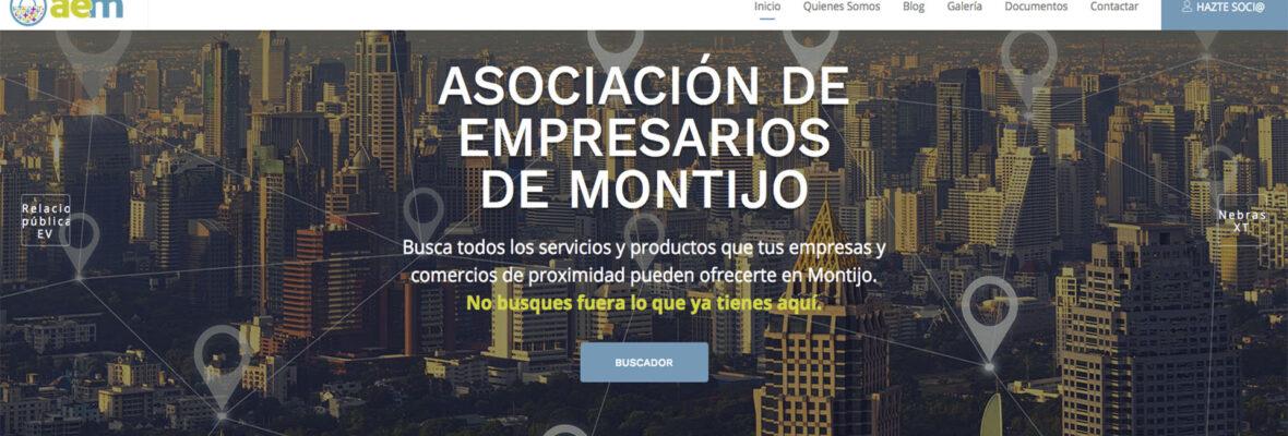 Presentación Nuevo Sitio Web Empresarios de Montijo